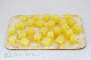 Апельсиновый рахат-лукум: фото к шагу 7.