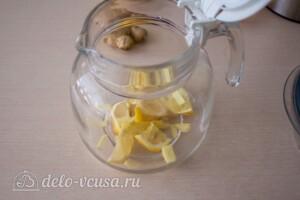 Имбирный чай с калиной и лимоном: фото к шагу 2.