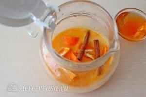 Облепиховый чай с апельсином и корицей: фото к шагу 4.