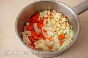 Фасолада - греческий постный суп: фото к шагу 3.