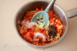 Фасолада - греческий постный суп: фото к шагу 5.