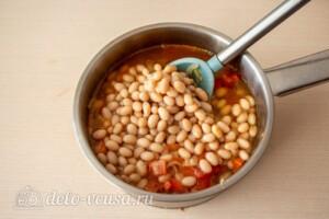 Фасолада - греческий постный суп: фото к шагу 6.