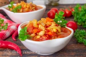 Фасолада - греческий постный суп: фото к шагу 7.