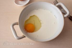 Французские тосты с молоком: фото к шагу 1.
