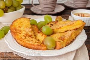 Французские тосты с молоком: фото к шагу 10.