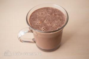 Горячий шоколад с бананом: фото к шагу 8.