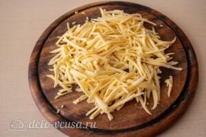 Кукурузная каша с сыром: фото к шагу 4.