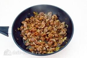 Куриные желудки в соево-чесночном соусе: фото к шагу 10.