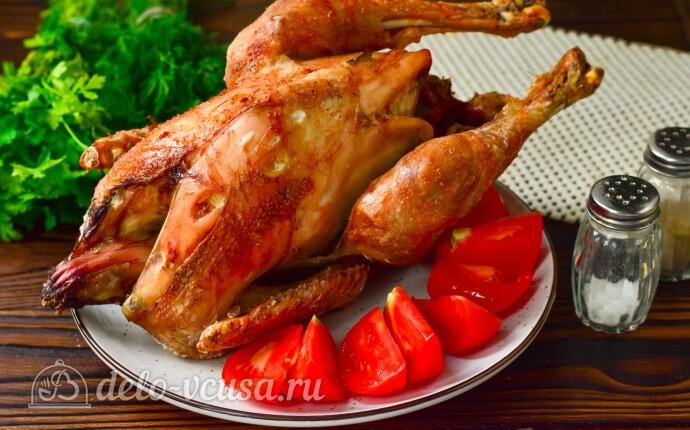 Курица-гриль на вертеле в духовке
