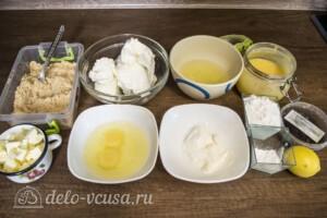 Лимонный чизкейк с меренгой: Ингредиенты