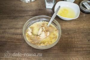 Лимонный чизкейк с меренгой: фото к шагу 1.