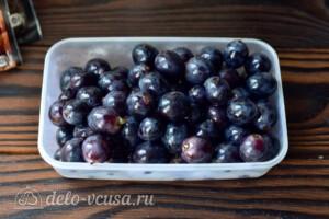 Маринованный виноград на зиму: фото к шагу 2.