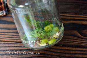 Маринованный виноград на зиму: фото к шагу 3.