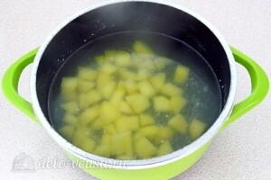 Овсяный суп с курицей и овощами: фото к шагу 7.