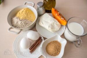 Безглютеновые панкейки из творога и тыквы: Ингредиенты