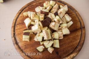 Паста-салат с овощами и сыром фета: фото к шагу 2.