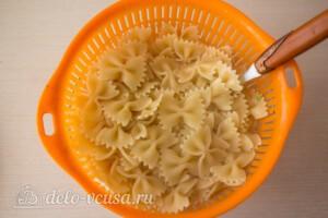 Паста-салат с овощами и сыром фета: фото к шагу 3.