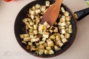 Паста-салат с овощами и сыром фета: фото к шагу 4.