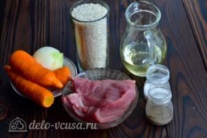 Плов со свининой в мультиварке: Ингредиенты