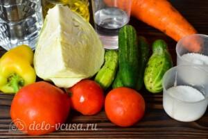 """Салат """"Гениальный"""" на зиму: Ингредиенты"""