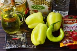"""Пикантный салат """"Глобус"""" на зиму: Ингредиенты"""