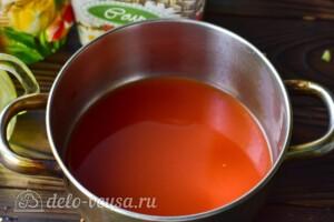 """Пикантный салат """"Глобус"""" на зиму: фото к шагу 2."""