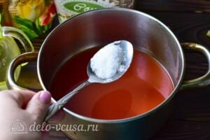 """Пикантный салат """"Глобус"""" на зиму: фото к шагу 3."""