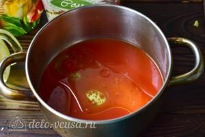 """Пикантный салат """"Глобус"""" на зиму: фото к шагу 4."""