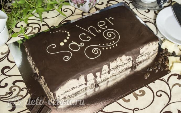 Торт Захер по-новому