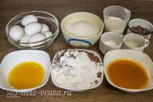 Торт Захер по-новому: Ингредиенты