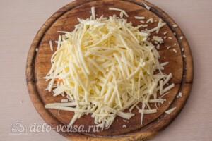 Цветная капуста, запеченная с сыром: фото к шагу 3.