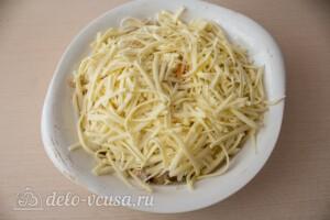Цветная капуста, запеченная с сыром: фото к шагу 8.