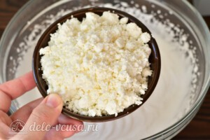 Творожно-сливочный крем без желатина: фото к шагу 5.