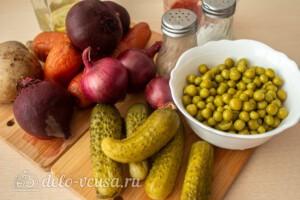 Винегрет по-французски: Ингредиенты