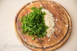 Запеченный лосось с сырно-ореховой корочкой: фото к шагу 3.
