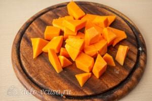 Жаркое со свининой, тыквой и овощами: фото к шагу 6.