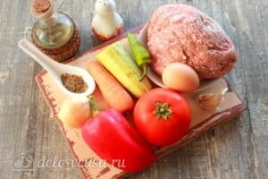 Альбондигас фрикадельки по-испански: Ингредиенты
