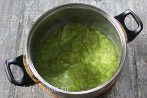 Икра из зеленых помидоров на зиму: фото к шагу 2.