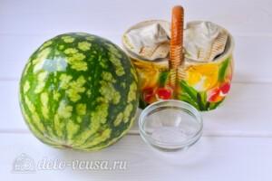 Варенье из мякоти арбуза на зиму: Ингредиенты