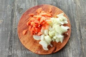 Жаркое из свинины с картошкой в мультиварке: фото к шагу 1.