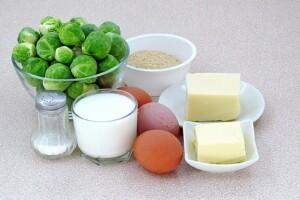 Запеченная брюссельская капуста с сыром: Ингредиенты