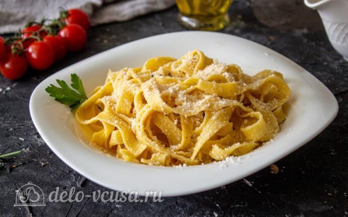 Фетучини Альфредо: фото блюда приготовленного по данному рецепту