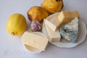 """Груша """"Три сыра"""" в духовке: Ингредиенты"""