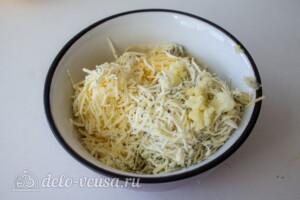"""Груша """"Три сыра"""" в духовке: фото к шагу 4."""