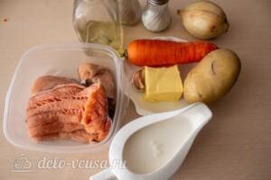 Калакейтто - финский рыбный суп: Ингредиенты