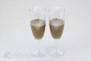 Кофе-глясе с желтками: фото к шагу 8.