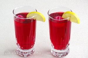 Лимонад из каркаде: фото к шагу 5.