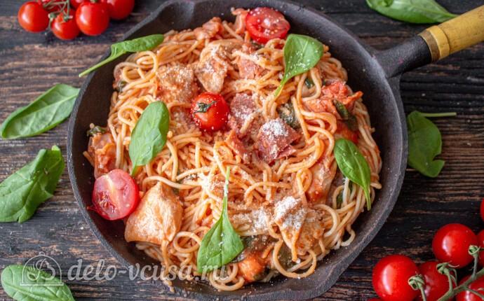 Паста по-тоскански: фото блюда приготовленного по данному рецепту