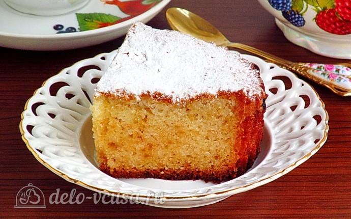 Простой пирог на майонезе