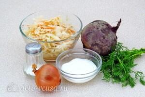 Салат из свёклы по-белорусски: Ингредиенты